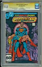 Crisis on Infinite Earths - CGC 9.8 - Signed by George Perez /Death of Supergirl