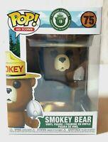 Funko Pop Ad Icons Smokey Bear 75 Vinyl Figure Toy Collectible NEW