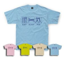 Eat Sleep Boxing T-Shirt Boxer Kids sizes 1/2yrs to 11/12 yrs