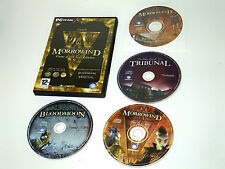 THE ELDER SCROLLS : MORROWIND Game of the Year GOTY in dvd case pc game RPG