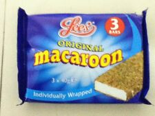 PACK OF 3 LEE'S MACAROON BARS, BRITISH SWEETS, WILL SHIP WORLDWIDE