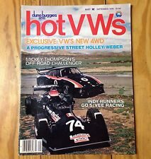 Dune Buggies and Hot VWs Magazine September 1978
