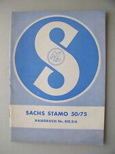 Sachs Stamo 50/75 Handbuch Nr. 410.2/6 Motor