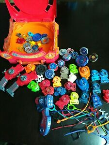 Beyblade lot Launchers Beyblades No Reserve