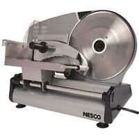 Electric Slicer Food Meat Cheese Bread Fruit Cutter 8.7 Blade Heavy Steel NESCO