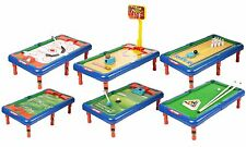 6 In 1 Game Hockey Pool Basketball Golf Table Indoor Childrens Toy Gift Set Top