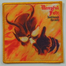- MERCYFUL FATE Don't Break The Oath (Printed Small Patch) (NEW)