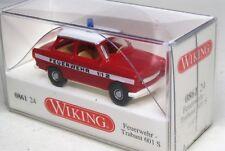 Wiking 1:87 Trabant 601 S OVP 0861 24 Feuerwehr ELW