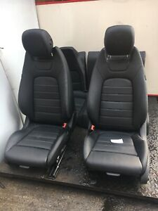 MERCEDES E CLASS W212 COUPE LEATEHR INTERIOR SEATS 2013-16 FACELIFT