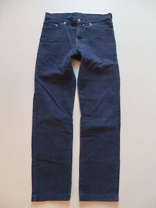 Levi's Cord Jeans Hose, W 32 /L 32, blaue Old School Cordhose, White Tab, RAR !