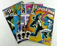 Marvel SPECTACULAR SPIDER-MAN (1987) #122-125 BLACK SUIT LOT VF/NM Ships FREE!