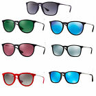 RAY BAN RB 4171 601/55 ERIKA Color Mix-Negro Azul Espejo Gafas De Sol 54 mm