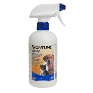 Frontline Spray for Dogs & Cats 500ml (NEW & Free Shipping)