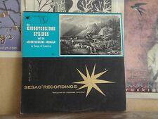 KNIGHTSBRIDGE STRINGS, SONGS OF AMERICA - SESAC RECORDINGS LP C 1701/02