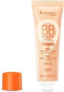 Rimmel BB Cream 9 in 1 Skin RADIANCE Make Up 30ml SPF20 - LIGHT