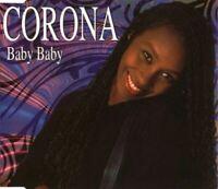 CORONA baby baby (CD, single, 1995) Euro house, italo dance, very good condition