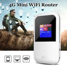 4G LCD LTE WIFI Wireless Router Mobile Hotspot Modem Broadband 150Mbps Unlocked