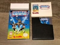 Harlem Globetrotters Nintendo Nes Complete CIB Near Mint Condition Authentic