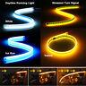 45/60cm LED Dynamic Streamer Strip Daytime Running DRL Light Turn Signal Lamp