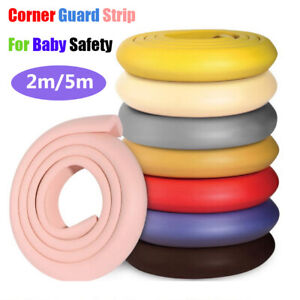 2/5Meter Table Desk Edge Guard Strip For Baby Safety Foam Bumper Kids Protection