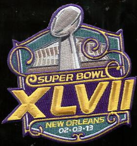 Willabee & Ward Super Bowl XLVII 47 Patch Only Ravens vs 49ers Joe Flacco MVP
