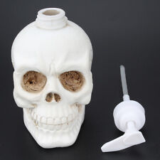 13-Ounce Large Skull Pump Bottle Soap Dispensers for Essential Oil, Lotion