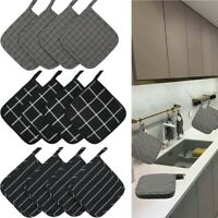 4-Pack 100% cotton Kitchen Quilted Pot Holders Trivets Heat Resistant Hot Pads