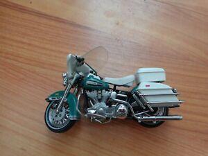 1/24 Franklin Mint Classique 1976 Electra Glide Harley Davidson Moto Vélo