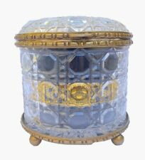 More details for cigar humidor (storage) - exotic glass designed with ormolu bronze mounts