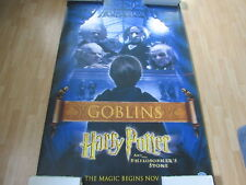 HARRY POTTER AND THE PHILOSOPHER'S STONE GOBLINS POSTER HUGE 72 X 48 A11807