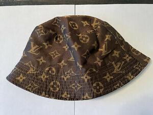 used Louis vuitton handmade bucket hat mint condition  luxurious elegant
