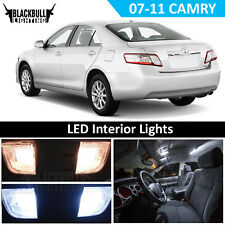 White LED Interior Light Accessories Kit MAP DOME for 2007-2011 Toyota Camry 11x