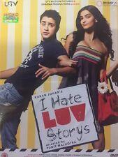 I HATE LOVE STORY - IMRAAN KHAN - SONAM KAPOOR - NEW BOLLYWOOD DVD - REE