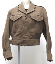 vtg NEW ZEALAND 50s Wool Army Coat Short Style 1954 Relax Ltd 7 Wellington rare