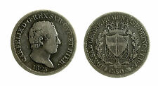 pcc1839_14) Sardegna Carlo Felice (1821 - 1831) 50 Centesimi 1825