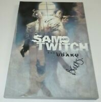 Sam & Twitch Book One Udaku Comic TPB Image Spawn SIGNED Brian Michael Bendis #1