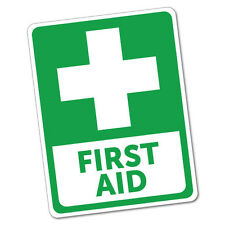 First Aid Sticker Decal Safety Sign Car Vinyl #6016K