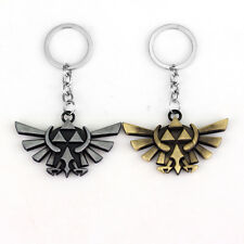 Legend of Zelda Triforce Keychain Zelda Logo Key Chain Anime Collectibles
