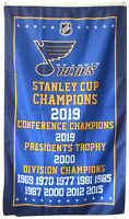 St. Louis Blues NHL Stanley Cup Championship Hockey Flag 3x5 ft Banner