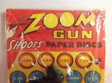 Toy Zoom Gun Shoots Paper Discs By The Plas - Trix Co., Brooklyn, N.Y.. Mint