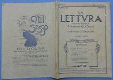 LA LETTURA - MENSILE DEL CORRIERE DELLA SERA 1903 N.6 FOTO SOMMARIO 11/17