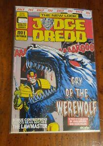 JUDGE DREDD #1 Quality Comics 1986 FIRST ISSUE