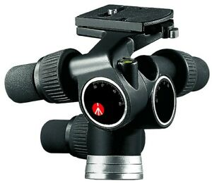 Manfrotto 405 Pro Digital Geared Head (Quick Release) - Supports 16.5 lbs (7.5kg