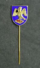 More details for worshipful scriveners company silver gilt enamel heraldic livery stick lapel pin