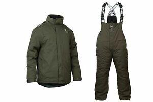 Fox Carp Winter Suit NEW Fishing Thermal Suit 3XL 4XL Jacket / Bib And Brace