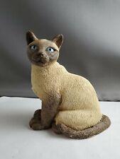 Marty Siamese cat sculpture
