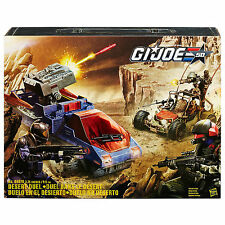 SDCC 2015 TRU & EE Exclusive: GI JOE 50th Anniversary - Desert Duel, NEW, MIB