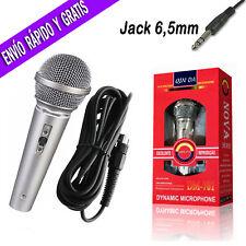 Microfono Dinamico con Cable Karaoke Micro DJ Cantar Fiesta Grabacion Youtuber
