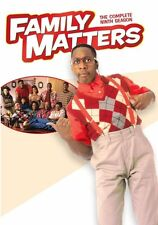 Family Matters . The Complete Season 9  . Alle Unter Einem Dach . 3 DVD . NEU