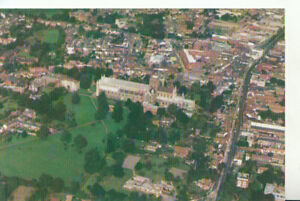 Hertfordshire Postcard - An Aerial View of St Albans - Ref TZ6579